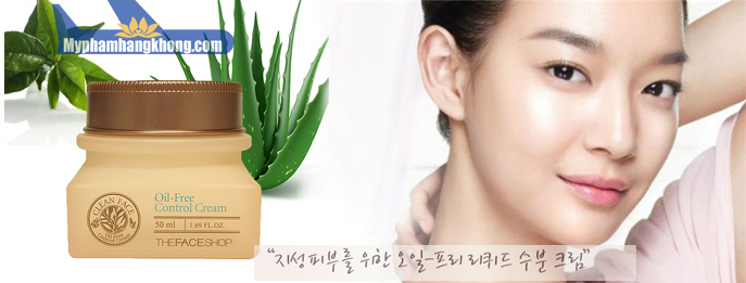 Kem-Dưỡng-Da-Trị-Mụn-Clean-Face-Oil-Free-Control-Cream---The-Face-Shop-mphk