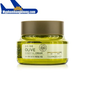 Kem dưỡng da The Face Shop Olive Essential Cream
