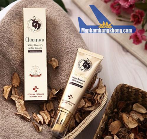 Kem Dưỡng Sữa Lừa Cleomee Moisture Repair Cream trắng da