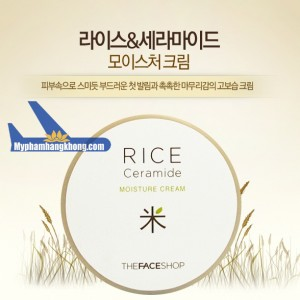 Kem Dưỡng Gạo Rice Ceramide Moisture-TheFaceShop