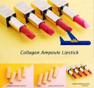 Son collagen ampoule lipstick đa màu sắc The Face Shop