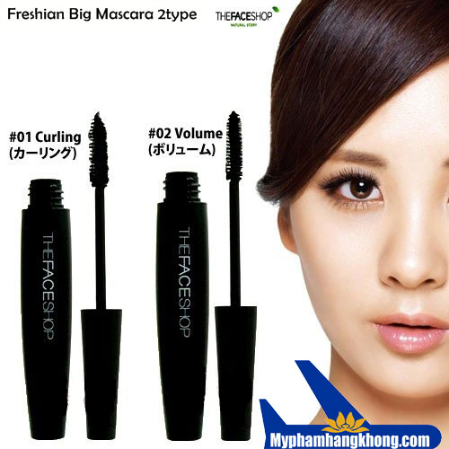 Mascara đen Freshian Big The FaceShop
