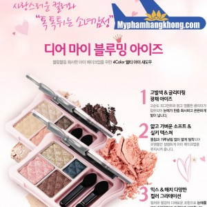 Phấn mắt nén Dear My Blooming Eyes Etude House