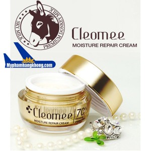 Kem-trang-da-Sua-lua-Cleomee-Moisture-Repair-Cream-50ml-Hàn-1