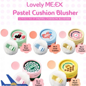 Phấn Hồng Lovely MEEX Cushion Blusher The Face Shop