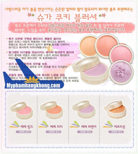 Phấn má hồng skinfood Sugar Cookie Blusher