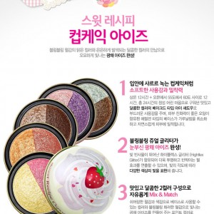 Phấn mắt nén Etude house Sweet Recipe Cupcake Eyes