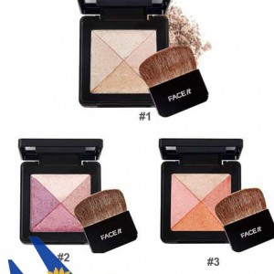 Phấn má The Faceshop Face it Lesson O4 Artist Cube Blusher