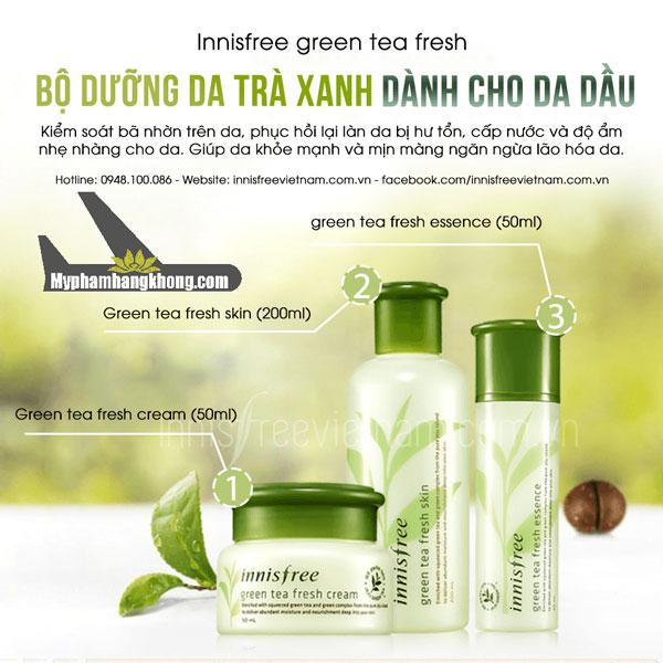 Set-duong-tu-tra-xanh-innisfree-green-tea-da-dau
