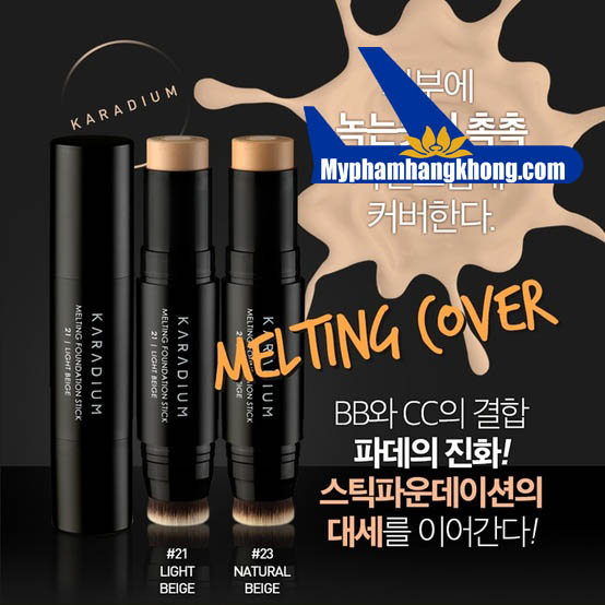 Kem Nền Dạng Thỏi Hàn Quốc Karadium Melting Foundation Stick