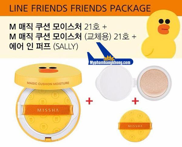 phan-nuoc-duong-am-missha-cushion-line-friends-vit-sally-4