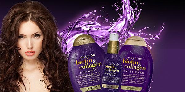 Dầu gội Biotin & Collagen OGX Mỹ