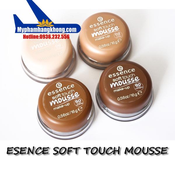 Phấn tươi Đức Esence Soft Touch Mousse