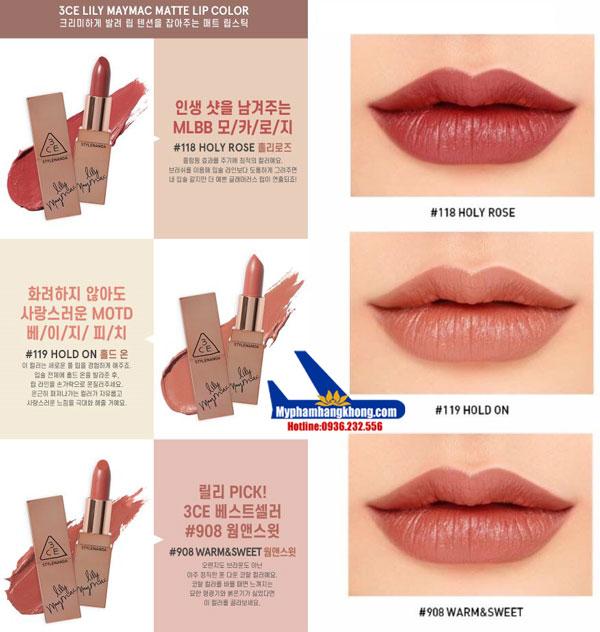 Son-3CE-Lily-MayMac-Matte-Lip-Color-tone-nude-4