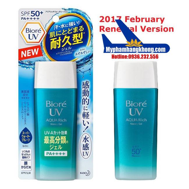 Biore-UV-Aqua-Rich-Quatery Gel-SPF50