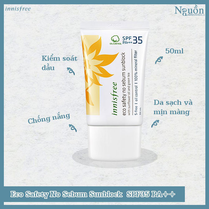 kem-chong-nang-innisfree-eco-safety-no-sebum-sunblock-spf35-pa-50ml