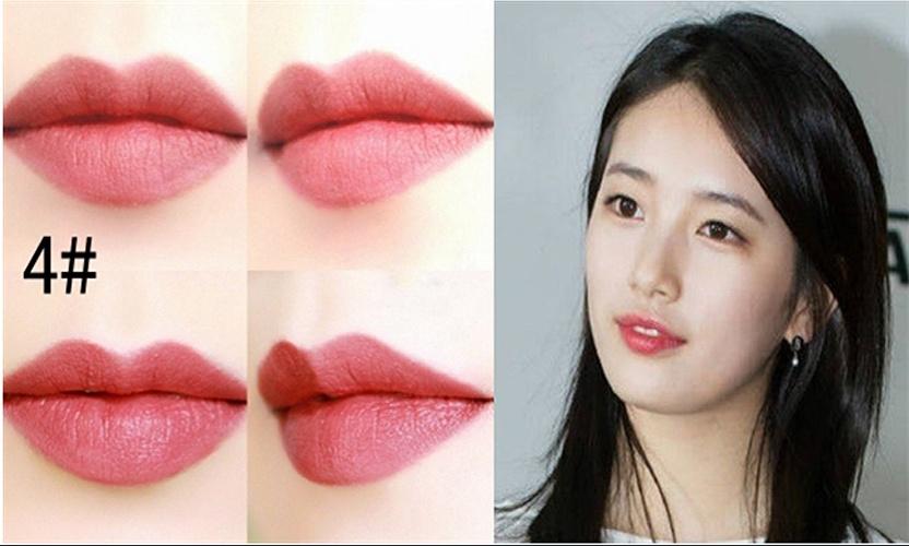 Son môi màu hồng đất của BbiA Last Lipstick Red Series (màu 04)