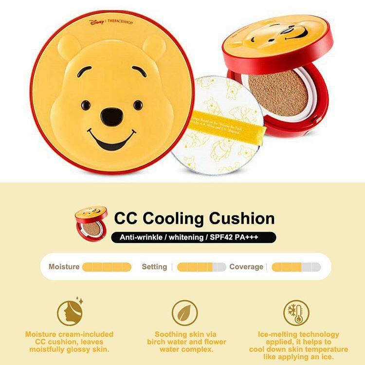 Phấn Nước Mickey The Face Shop BB Power Perfection Cushion