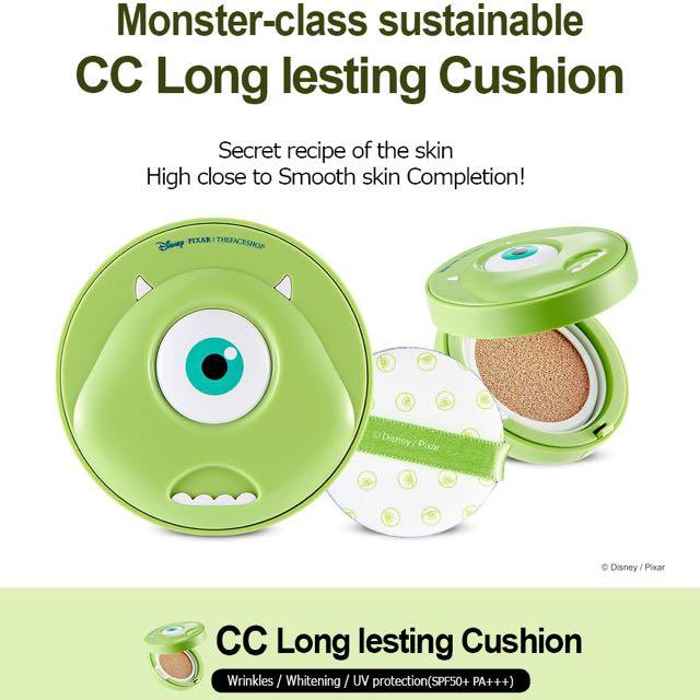 Phấn Nước Monster The Face Shop CC Long Lasting Cushion SPF50+ PA+++