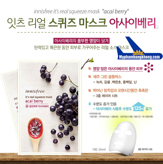 Innisfree-It's-real-squeeze-mask-Acai-Berry