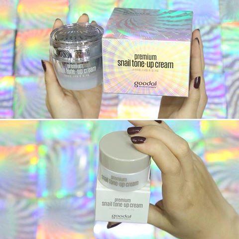 Kem dưỡng ốc sên Mini Goodal Premium Snail Tone Up Cream 5