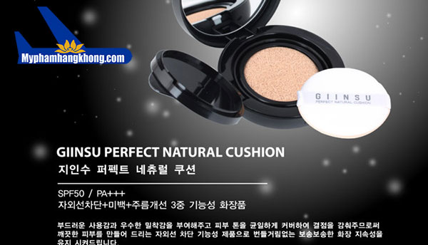 Phấn nước Giinsu Perfect Natural Cushion