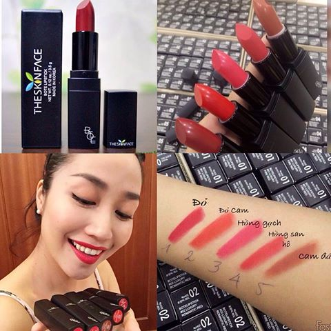Son The Skin Face Luxury Bote Lipstick 3.5g