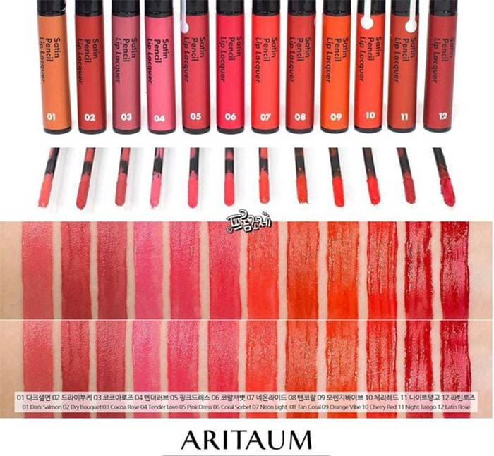 Son aritaum Satin Pencil Lip Lacquer