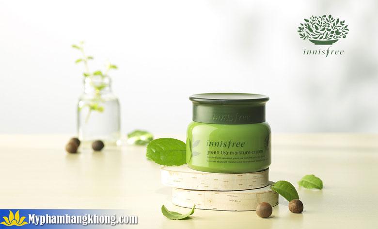 kem-duong-tra-xanh-innisfree-moisture-50ml