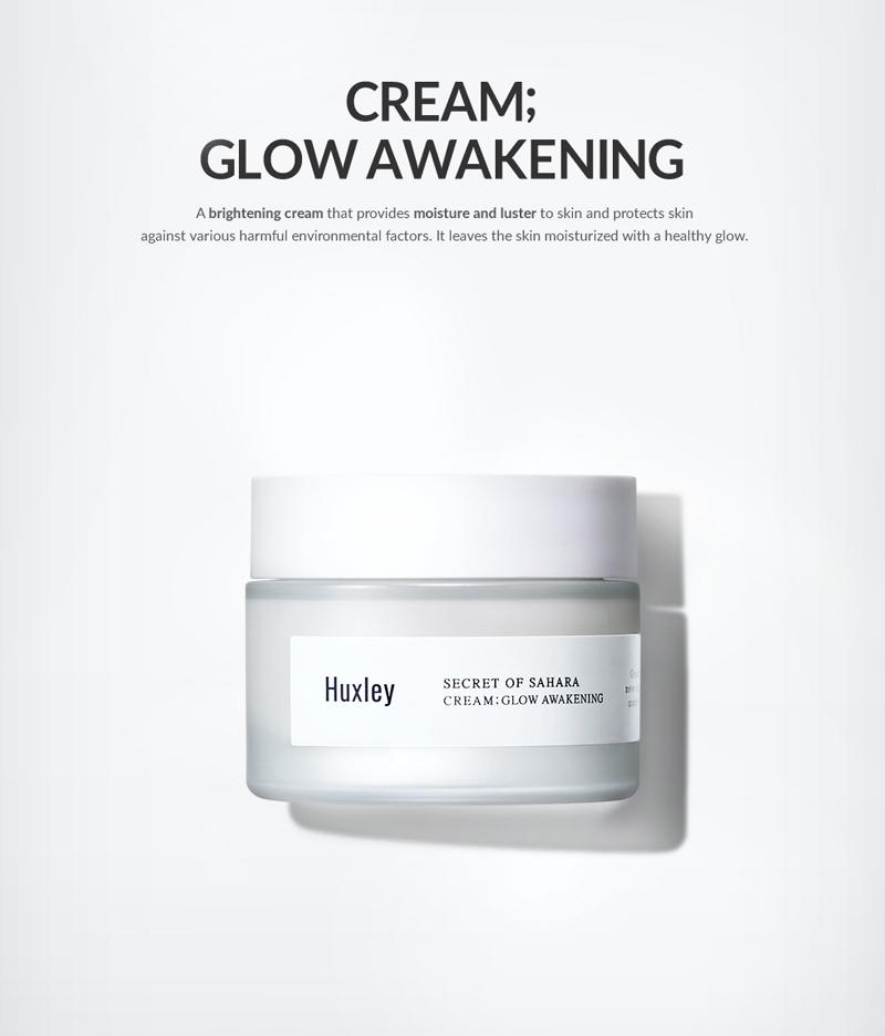 kem-duong-trang-da-Huxley Cream; Glow Awakening