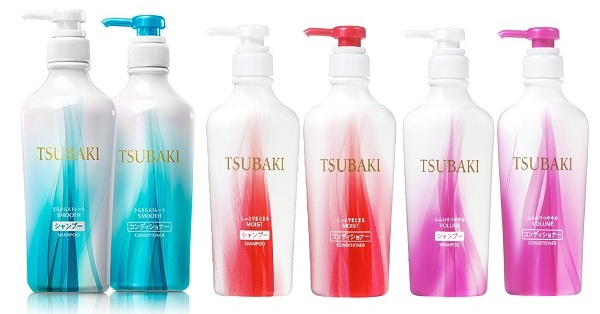 Bo dau goi va dau xa Tsubaki cua hang Shiseido Nhat Ban 3