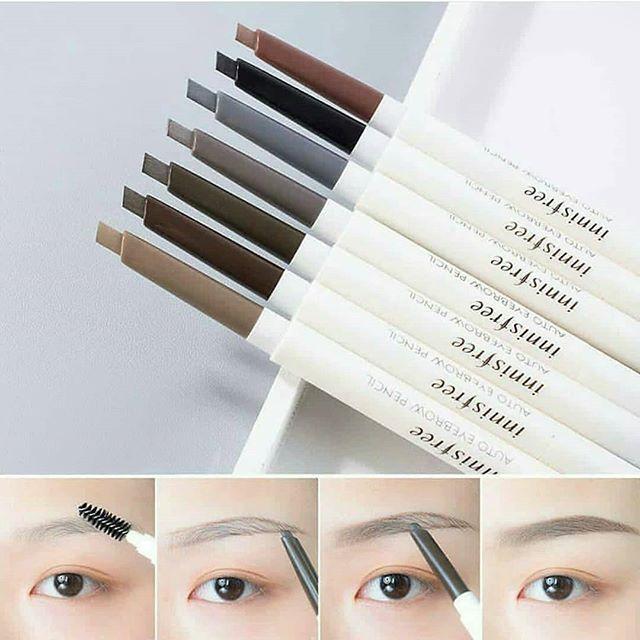 Chi ke may hai dau Innisfree Auto Eyebrow Pencil Han Quoc 2