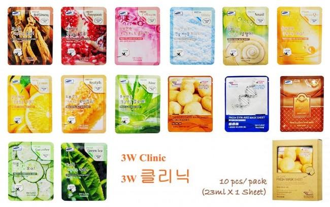 Mat na 3W Clinic Han Quoc (10 sheet) 10