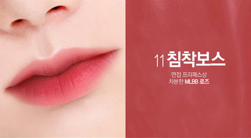 Son Bbia Last Velvet Lip Tint Version 3 Han Quoc 5