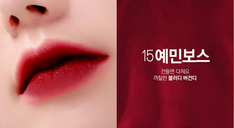 Son Bbia Last Velvet Lip Tint Version 3 Han Quoc 9