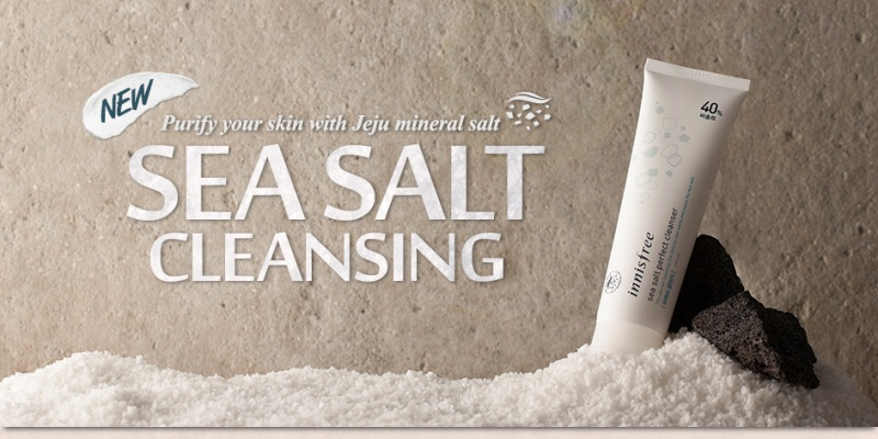 Sua Rua Mat Muoi Bien Sea Salt Perfect Cleanser Innisfree Han Quoc